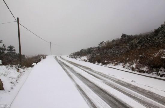 2018的第一场雪 甘肃总是来得更早一些